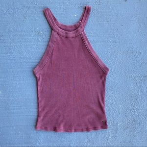 American Eagle High Neck Tank
